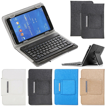 Universal Keyboard Case for 7 Inch Tablet PC for Lenovo Samsung Tab 7.0 Amazon Fire HD 7 Wireless Bluetooth Keyboard Cover