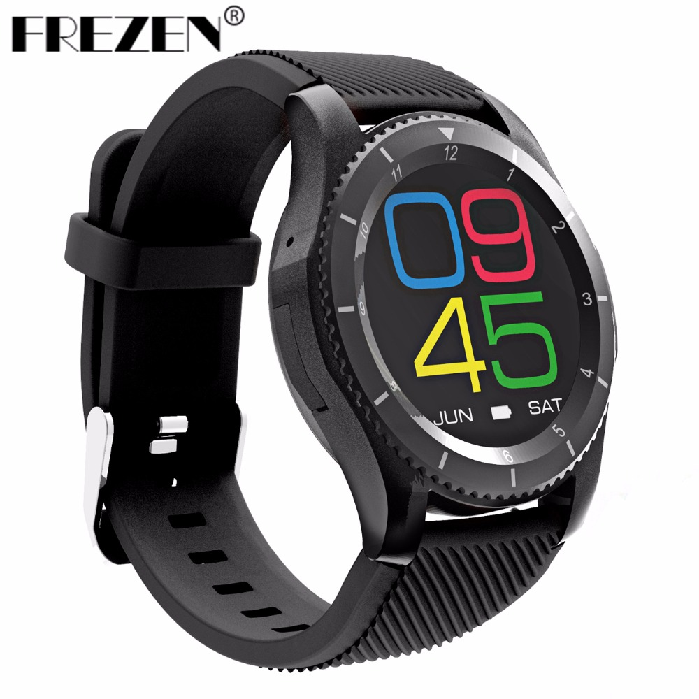 FREZEN G8 Smartwatch Bluetooth 4.0 SIM Call Message Reminder Heart Rate Monitor Smart Watchs For Android IOS 2017 new no 1 g8 smartwatchs bluetooth 4 0 sim card call message reminder heart rate monitor smart watchs for android apple