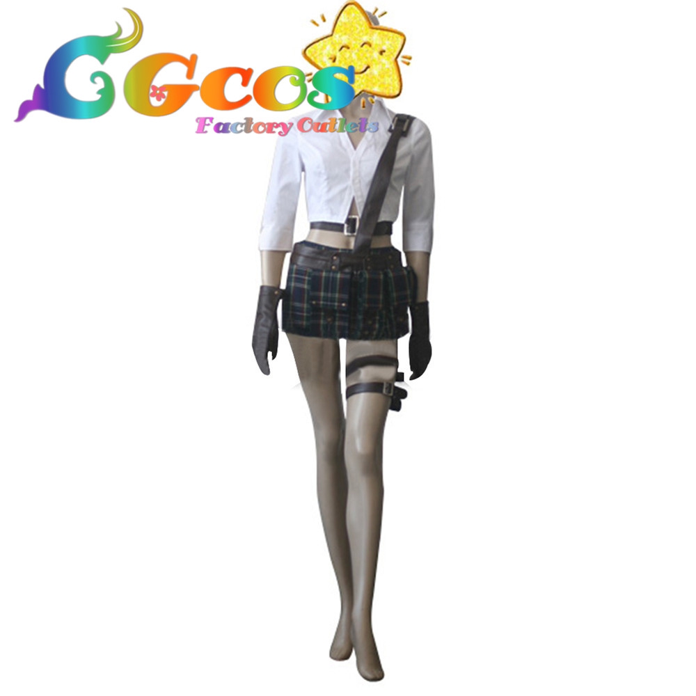 CGCOS Free Shipping Cosplay Costume Devil May Cry III3 Lady New in Stock Retail / Wholesale Halloween Christmas Party Uniform