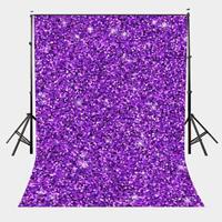 5x7ft Color Sequin Photography Backdrop Millennial Violet   Photo     Studio   Background Props