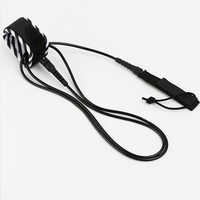 Hot Sale 6/8/10/12Feet Thick Surf Leash Surfing Surfboard Leash sup leash Rope Stand up paddle Board Leash Coil Surf Accessories