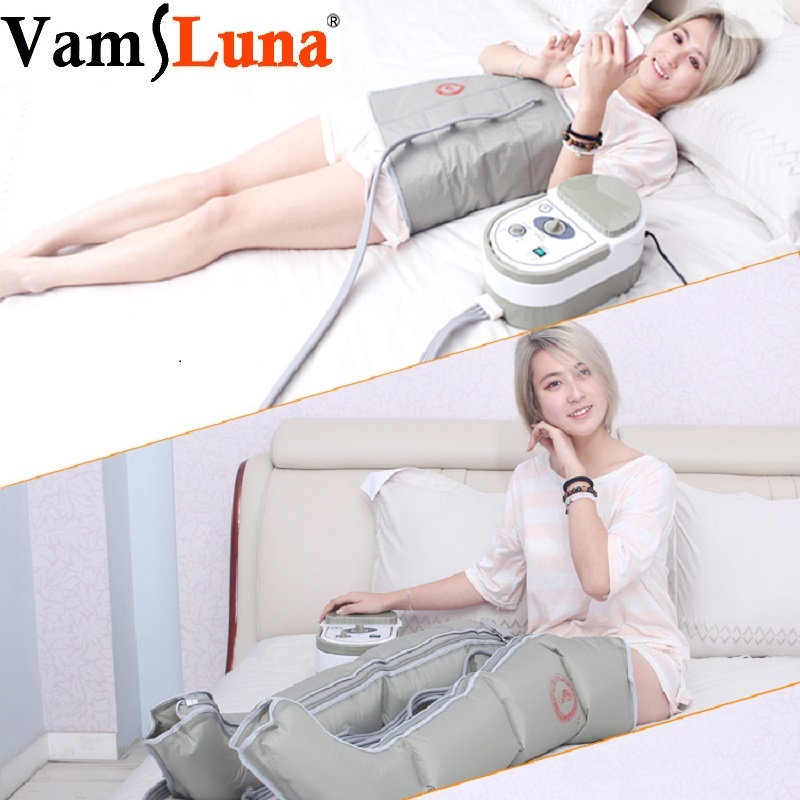 Air Wave Pressure Massage  Sequential Compression Circulator Leg Arm Waist - Sequential Leg Massager. Muscles Relaxed&Stimulate Air Wave Pressure Massage  Sequential Compression Circulator Leg Arm Waist - Sequential Leg Massager. Muscles Relaxed&Stimulate