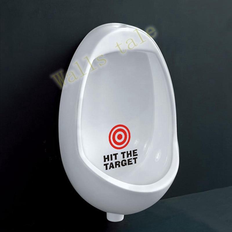 Hit The Target Sticker forPotty Training Boys Kids Toilet Seat bathroom