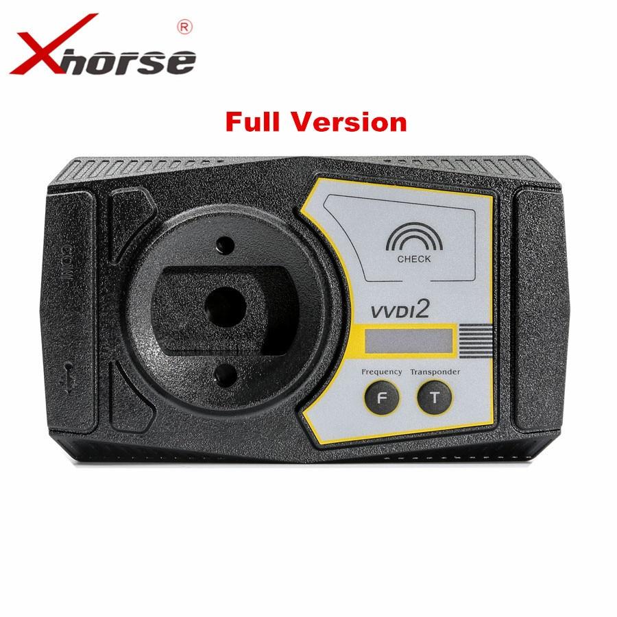 Originale Xhorse V6.0.0 VVDI2 Commander Chiave Programmatore per V-W/Audi/BMW/Porsche Versione Completa di Trasporto ID48 96Bit copia il trasporto fem mqb