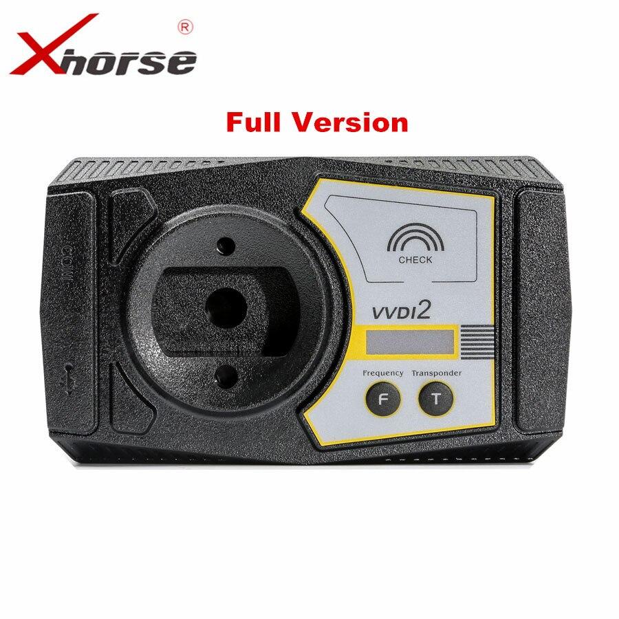 Origine Xhorse V6.0.0 VVDI2 Commandant Programmeur principal pour V-W/Audi/BMW/Porsche Version Complète Livraison ID48 96Bit copie livraison fem mqb