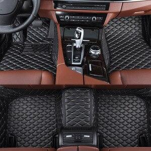 Image 3 - car floor mats for BMW e30 e34 e36 e39 e46 e60 e90 f10 f30 x1 x3 x4 x5 x6 1/2/3/4/5/6/7 car accessories styling Custom foot mats