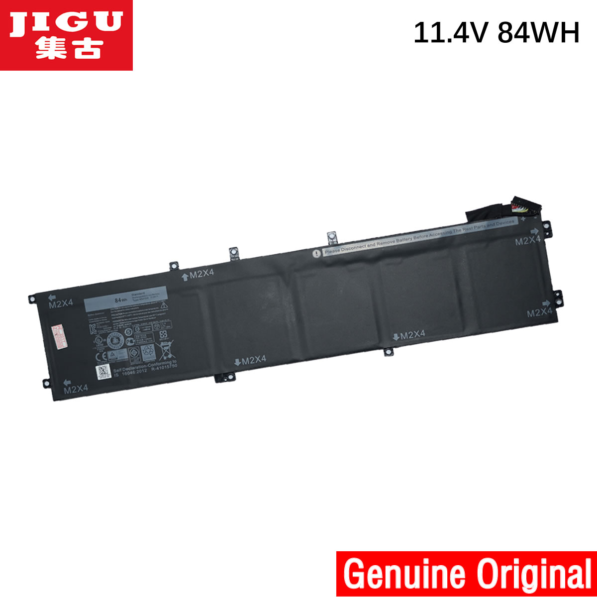 JIGU Original Laptop Battery 1P6KD 4GVGH RRCGW For DELL For Precision 5510 XPS 15 9550 XPS15 9550 genuine new for dell precision 5510 xps15 9550 hdd hard drive connector cable xdygx 0xdygx dc02c00bl00