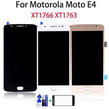 купить 5.0 inch For Motorola for Moto E4 XT1766 XT1763 LCD Display Touch Screen for Moto E4 Screen Digitizer Assembly Parts free Tools по цене 1110.05 рублей