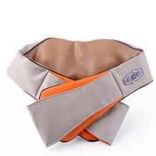 Home Car U Shape Electrical Shiatsu Back Neck Shoulder Body Massager Infrared Heated Kneading Car Home
