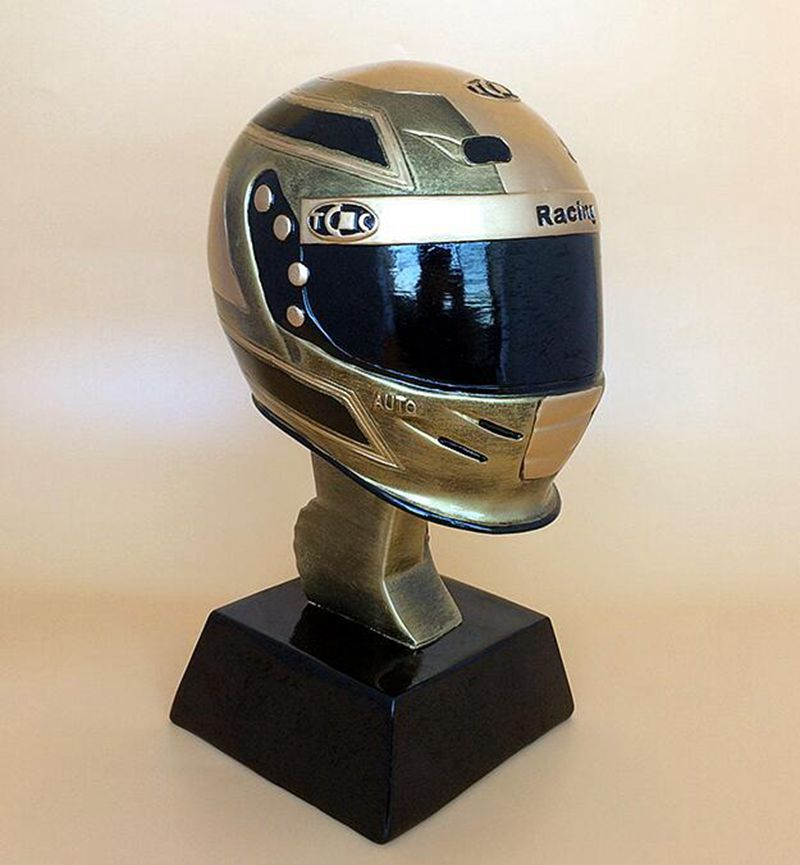 Hot! The Racing trophy Trophy cup The Motor Racing Trophy cup Award for the Best Racer Free shipping Fans Souvenirs Nice Gift trophy