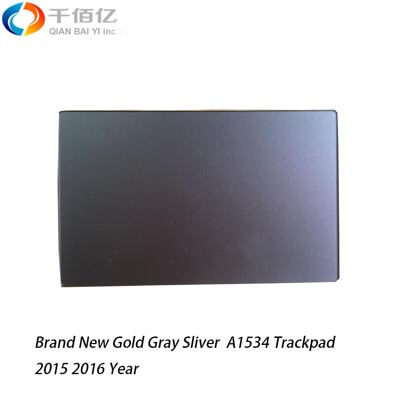 Brand New Gold Gray Sliver A1534 Trackpad for Macbook Retina 12' 2015 2016 image