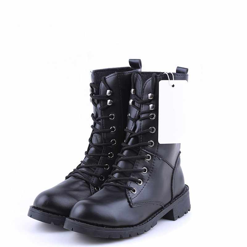 1pair New Style Autumn Women Boots Winter Warm Shoes Botas Feminina Female Fashion Motorcycle Ankle Boots Women Botas Mujer