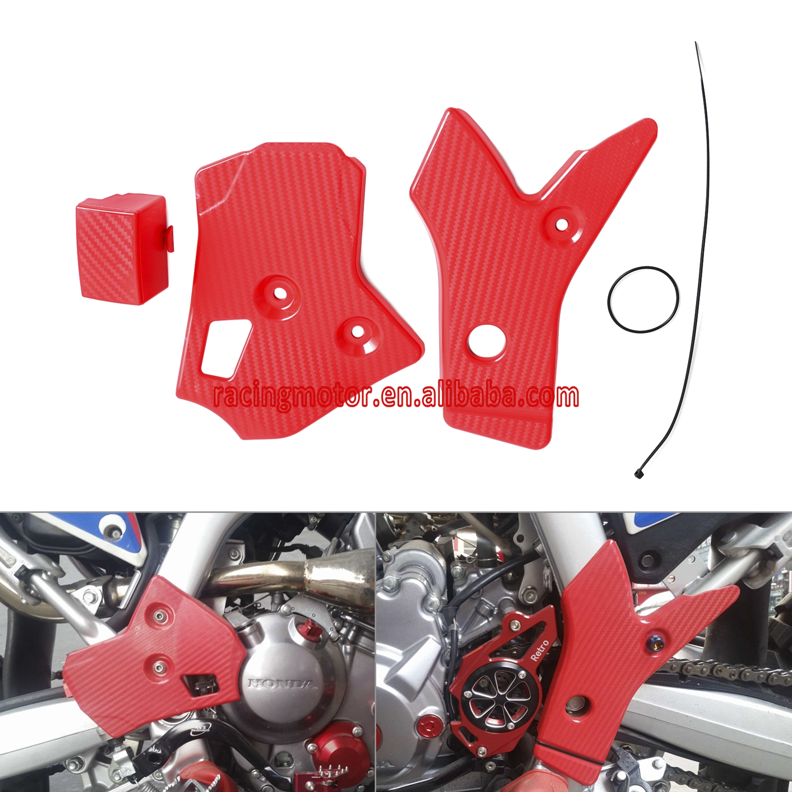 Motorcycle Frame Protector Dirt Bike For Honda CRF250L CRF250M 2012   2015  2013 2014 CRF250 L/M