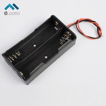 10pcs 2×3.7V 2*18650 7.4V Battery Holder Plastic Box Battery Storage Case Socket with Wire Cable Lead Electronic Circuit DIY