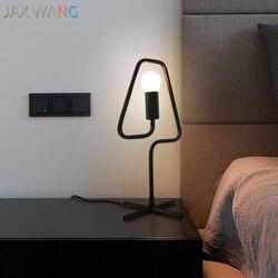 JAXLONG nordycki współczesny lampy stołowe kreatywny salon prosty spersonalizowany lampa stołowa Macaron sypialnia nocne biurko oprawa oświetleniowa