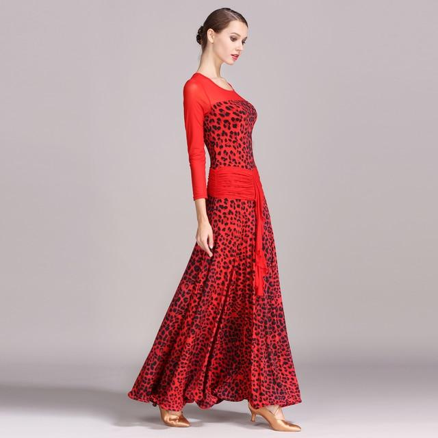 1737 Modern Dance Costume Women Ladies Adults Waltzing Tango Dancing Dress Ballroom Costume Evening Party Dress 2