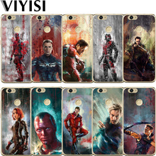 VIYISI For Huawei P10 lite Phone Case Y5 Y6 II Pro Y7 Nova 2 Plus P8 P9 P20 Honor 9 6A Mate 10 Lite 2017 Marvel Ant-Man
