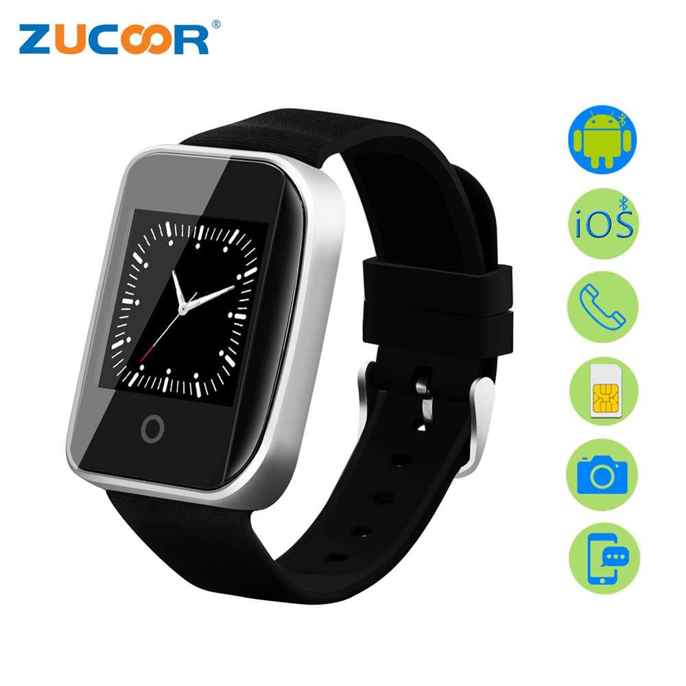Smart Watch Men Wristwatch Smartwatch ZW79 Support SIM Card Camera Bluetooth Anti-lost Waterproof For iOS Android Huawei XIAOMI zaoyiexport bluetooth 4 0 smart watch u10 support camera anti lost smartwatch for iphone xiaomi sumsung android pk u8 gt08 dz09