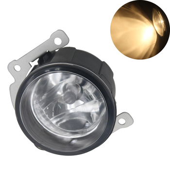 Car Front Fog Light Housing Warm White Fog Lamp 55W For Mitsubishi Outlander  2010 Auto Replacement Parts