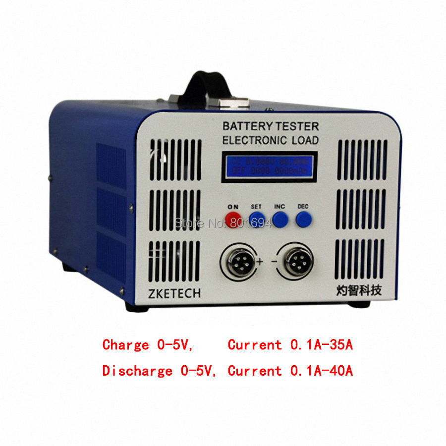 EBC A40L 0 5V 3.2V3.7V4.2V High Current Lithium Iron Lithium Ternary Battery Capacity Tester Charge 35A Discharge 40A