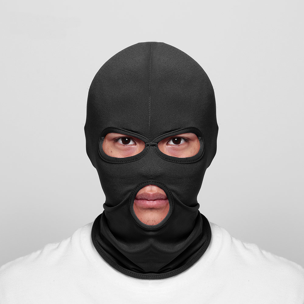 HOOH Motorcycle Face Mask Cycling Ski Neck Protecting Outdoor Balaclava Full Face Mask Ultra Thin Breathable Windproof Mask