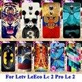 Suave tpu rígido pc casos de telefone celular para letv leeco le 2 Pro X20 X25 Le 2X620 Habitação Cobre Panda Tigre Capitão Americano Shell