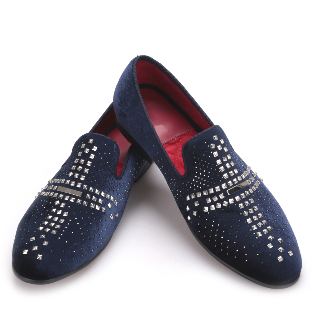 Imported velvet hot silver metal male smoking shoes men shoes zapatos hombre