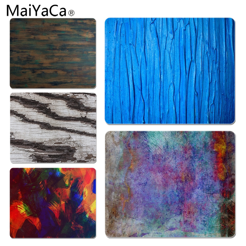 MaiYaCa 2018 New Surface Blue Paint Computer Gaming Mousemats Size for 180x220x2mm and 250x290x2mm Small Mousepad