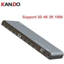 3D 4K hdmi devider 2K power splitter 1080P HDMI video audio Splitter 8ch HDMI divider HDMI power splitter 3D video converter