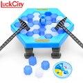 Guardar el pingüino hielo romper gran familia divertido juego de escritorio niños regalos de juguete que hacen que el pingüino se caiga perder este juego