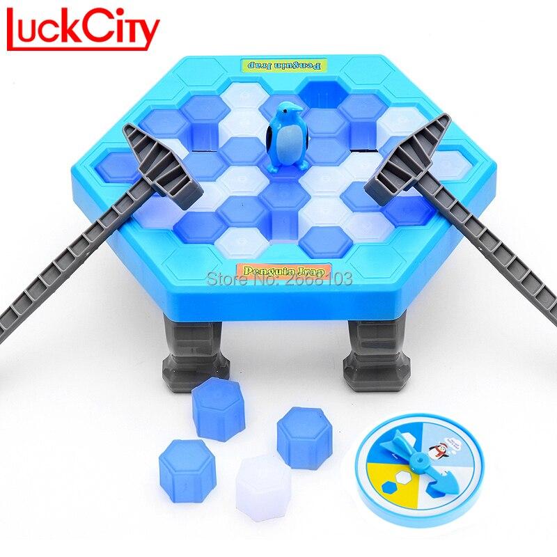 Guardar el pingüino romper el hielo gran familia escritorio divertido juego Kid Toy regalos que hacer el pingüino caer perder este juego