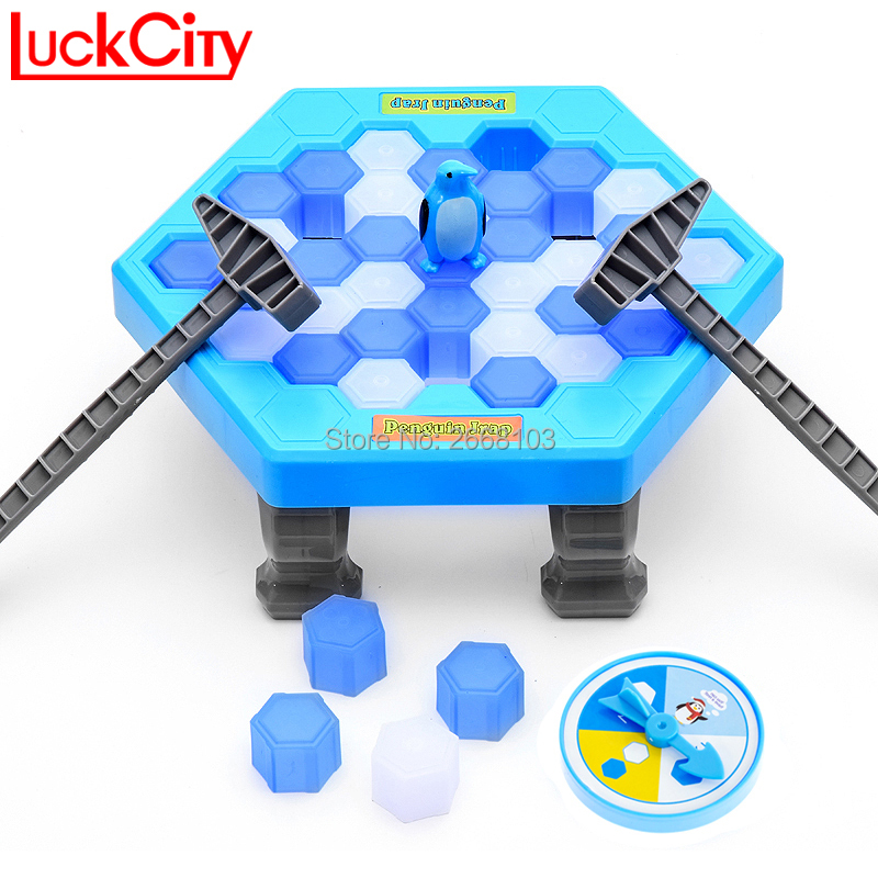 Simpan Penguin Penguin Ice Breaking Great Family Funny Desktop Game Kid Toy Gifts Who Make The Penguin Fall Off Lose This Game