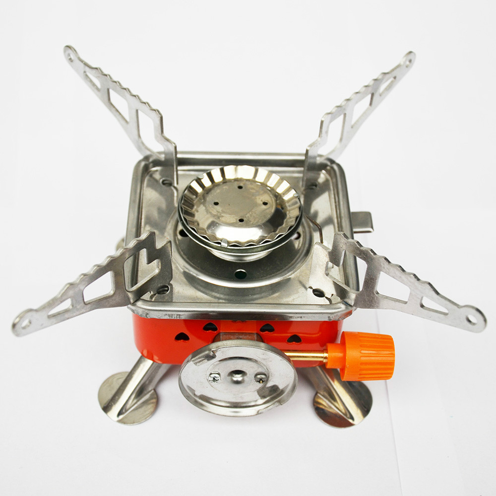 BEEMSK outdoor camping gas stove burner portable palm stove