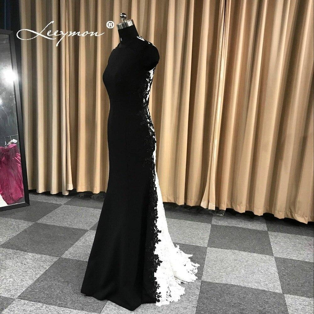 Leeymon Custom Made 2019 livraison gratuite Robe De soirée Vintage dentelle Robe De soirée Robe De soirée Longue vraies photos