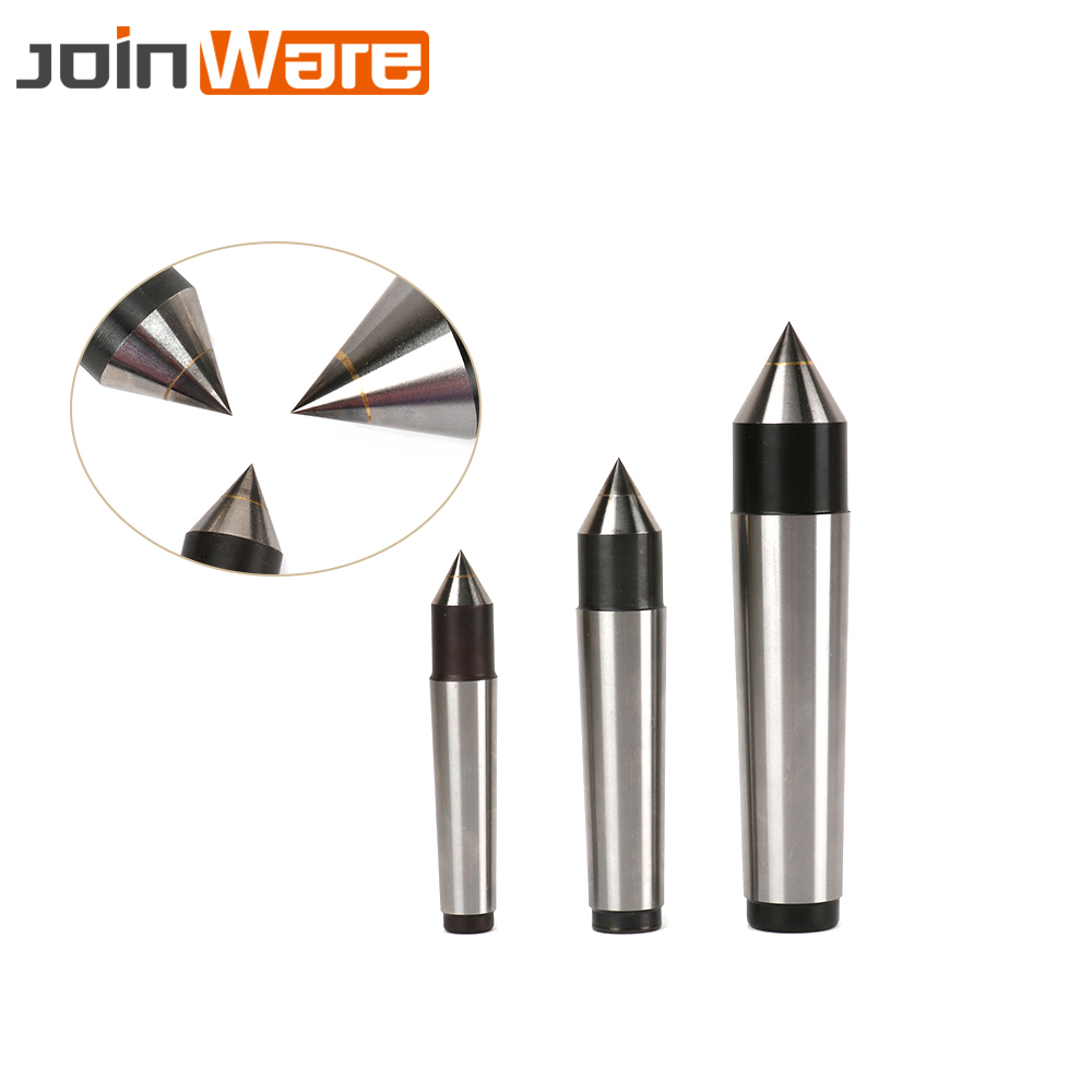 3PCS MT2/3/4 Taper Alloy Solid Dead Center Drilling Lathe Machine Lathe Tailstock Machine Tool Head 17mm 22mm 31mm Free Shipping