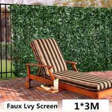 1x3M, planta de pared Artificial, seto de boj, jardín, patio trasero, decoración del hogar, césped Artificial, alfombra, césped, pared de flores para exteriores