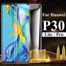 3D Curverd Tempered Glass on the for Huawei P30 Pro Protector Glass for Huawei P