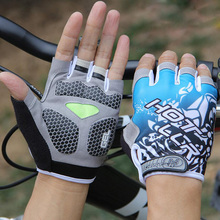 VICTGOAL Gel Pad Cycling Gloves Half Finger Men Glove Anti-Slip Breathable Shockproof Outdoor Sports Gloves Accessories N1201