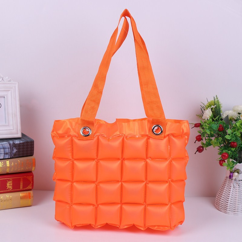 Free Shipping Summer Hot Sale New PVC Inflatable Beach Bag Bubble Bag Waterproof Ladies Handbag Bubble Fashion Shopping Bag free shipping butterfly shopping bag lovely pvc waterproof ted bag colorful jelly handbag women handbag with original logo