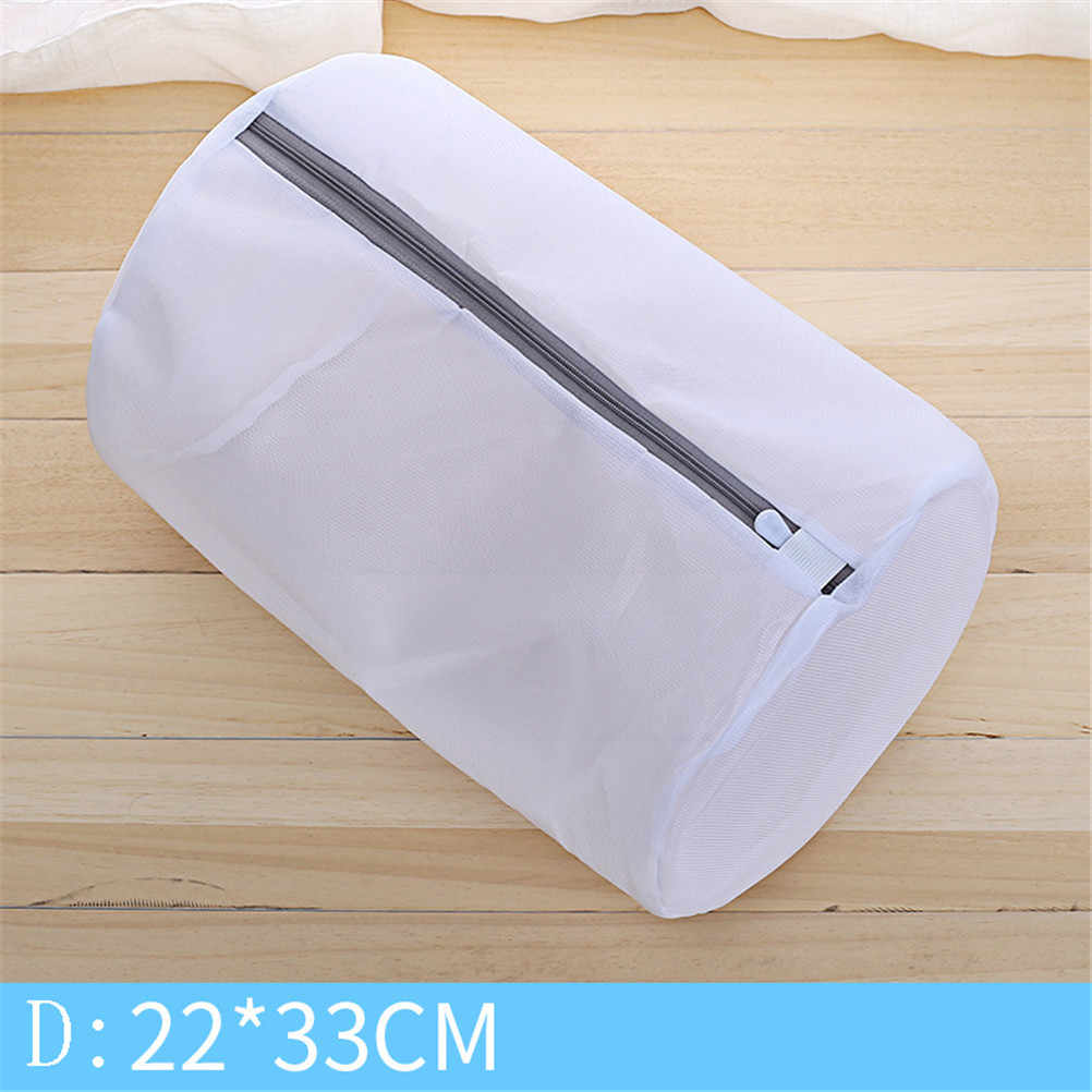 Mesh Laundry Bags for Washing Machine Travel Clothes Storage Net Zip Bag for Wash Bra Stocking and Underwear