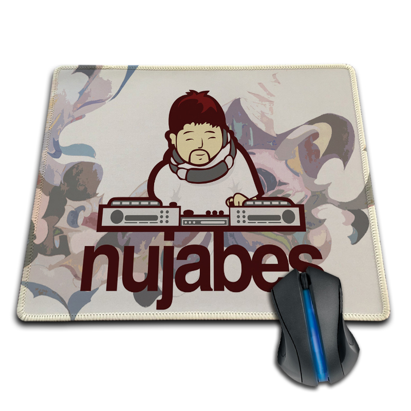 Babaite Hot Sales Gaming Mousepad Turntable Nujabes Best Sale Mice Gaming Cool 250X290X2MM 180X220X2MM Mouse Pad Customized Mat