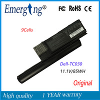 9 9cells 85wh novo qualidade original nova bateria do portátil para dell d620 d630 tc030 ud088