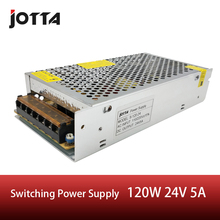 Universal 24V 5A 120W Switching Power Supply Transformer Fit for LED Strip Light Lighting AC-DC New цена