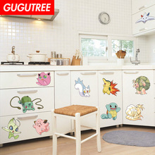 Decorate animal cartoon art wall sticker decoration Decals mural painting Removable Decor Wallpaper LF-1739