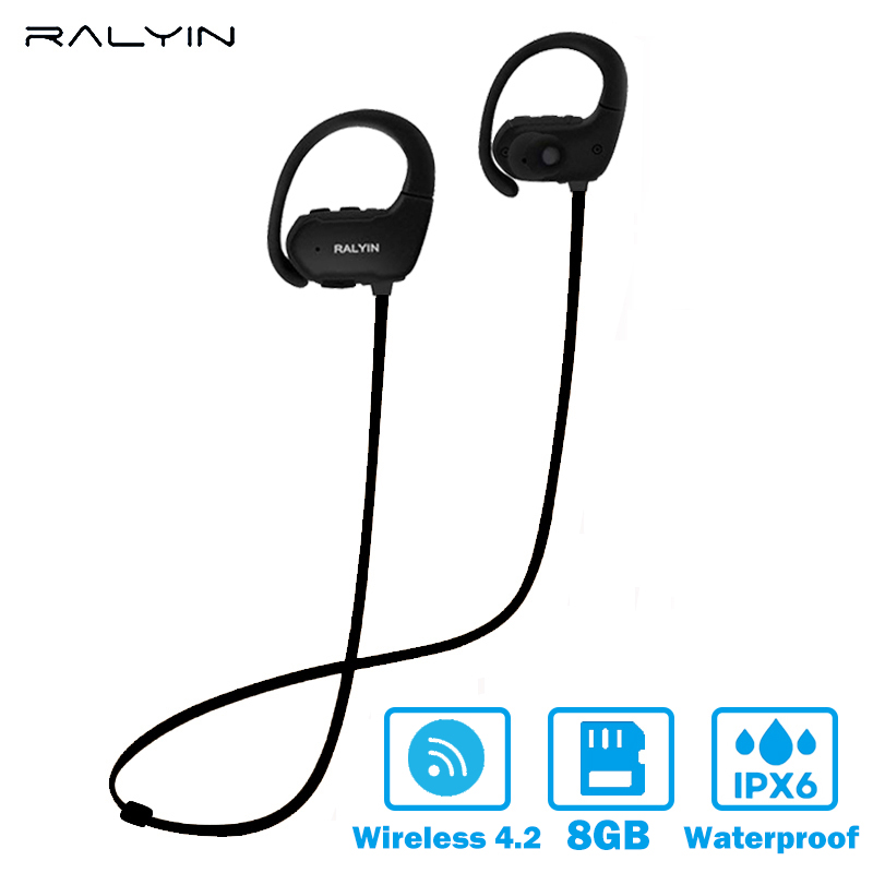 Ralyin MP3 Player portable sport waterproof MP3 PLAYER Walkman Lettore Mp3 Bluetooth earphone 8GB memory MP3 Player super bass сплит система ballu bsli 07 hn1 ee eu eco edge dc inverter