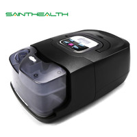 GI Auto CPAP Machine Black Shell Smart Home Care Respirator For Sleep Snoring Apnea Therapy With Humidifier Mask Hose