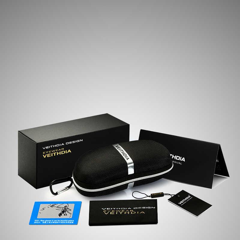 VEITHDIA 2020 מותג גברים של משקפיים שמש מקוטב עדשת זכר משקפי שמש מעצב אלומיניום מגנזיום משקפיים Eyewear עבור גברים 6520