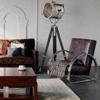 floor lamp stand lampnautical spot studio tripod spotlight photography search light Home Decoration Light Fixture