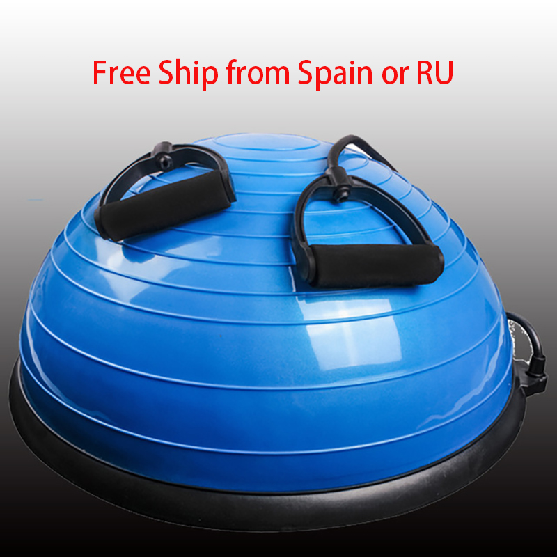 keep fit fitness bosu ball balance half fitness yoga ball exercise gymastic ball Sport Fitness pilates ball yoga fitness half bosu balance yoga ball bo speed ball