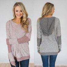 autumn and winter fashion woman sweatshirt full pullovers hooded slim sheath comfortable